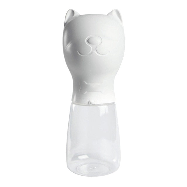 480ML Portable Pet Dog Water Bottle with cute pet design