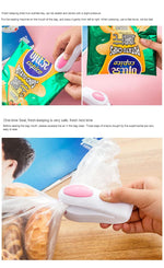 Portable Mini Plastic Bag Sealing Machine (battery operated)