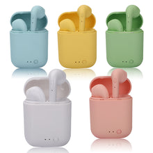 Wireless 5.0 Earbuds With Mic & Charging Case: Multiple Colors
