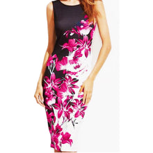 Women's Plus Size Sleeveless Summer Printed Dress