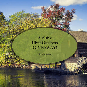 AuSable River Outdoors Knife GIVEAWAY