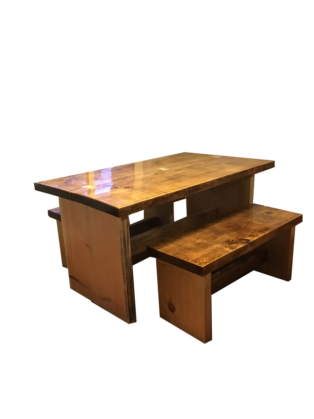 Live Edge Dining Set-AuSable River MFG