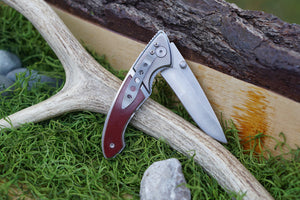 Hi Tech Folder Knife-AuSable River MFG