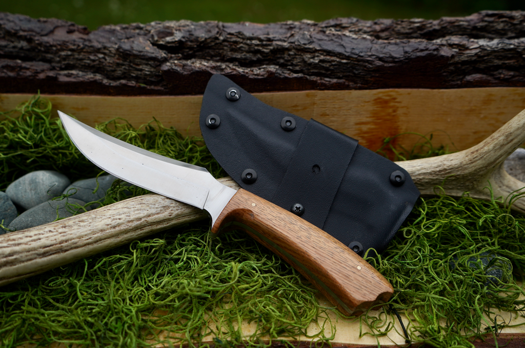 Hunting Knife (BBKB-MH-Hunt-008)-AuSable River MFG