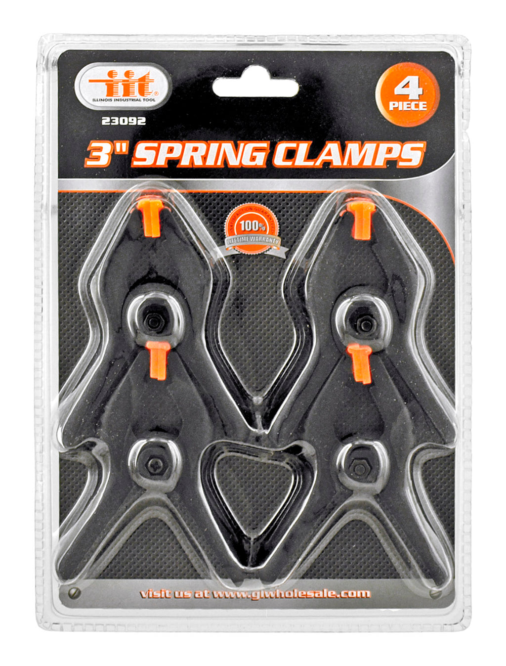 "3"" Hand Spring Clamp Set of 4 pieces"