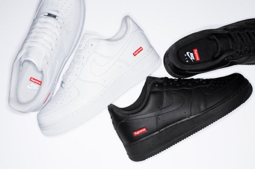 Air Force 1  x supreme sneakers