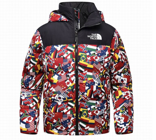 North Face Jacket 2020 Flags - TrickyShopper