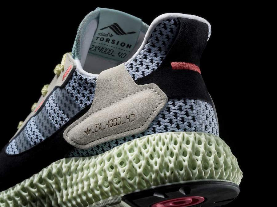 huge selection of 10062 0031e Adidas ZX 4000 Futurecraft 4D Grey One