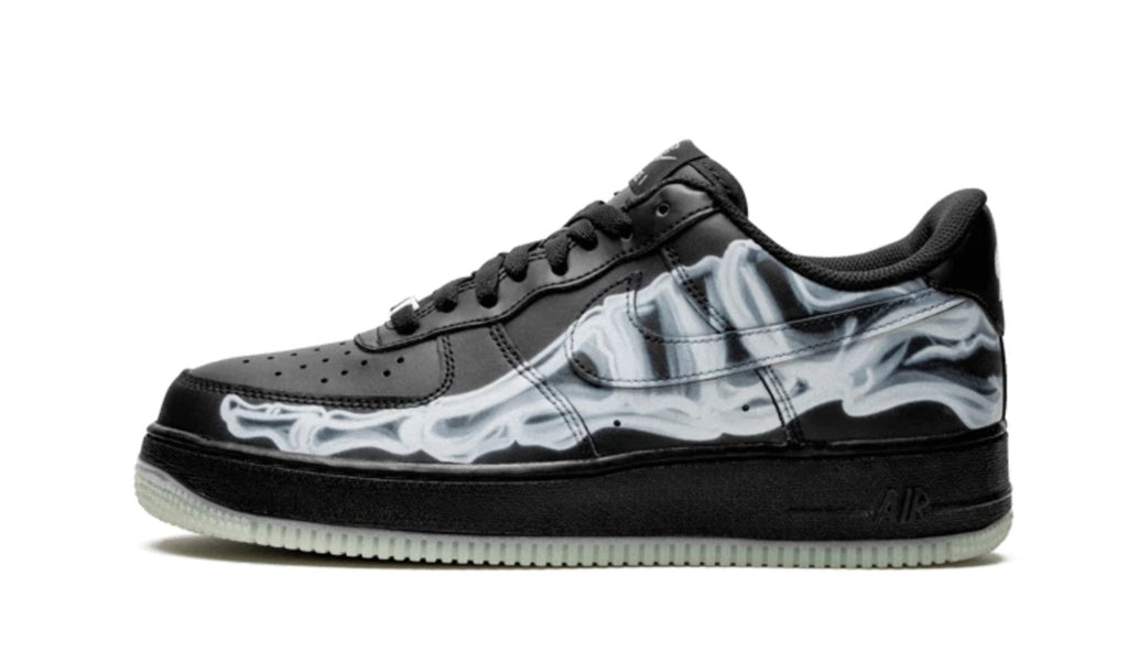 Nike Air Force 1 Low Black Skeleton Halloween (2020)