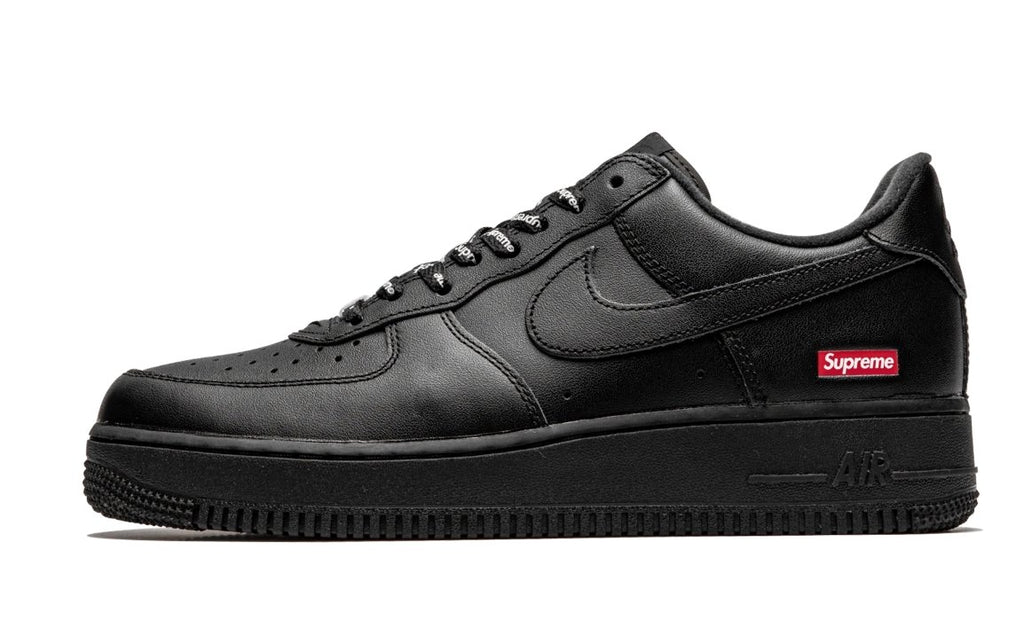 Air Force 1 Low Black Supreme