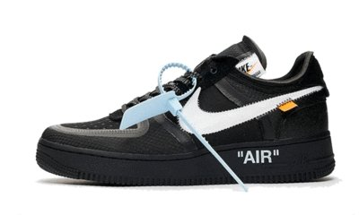Nike Air Force 1 Low Off-White Black - TrickyShopper