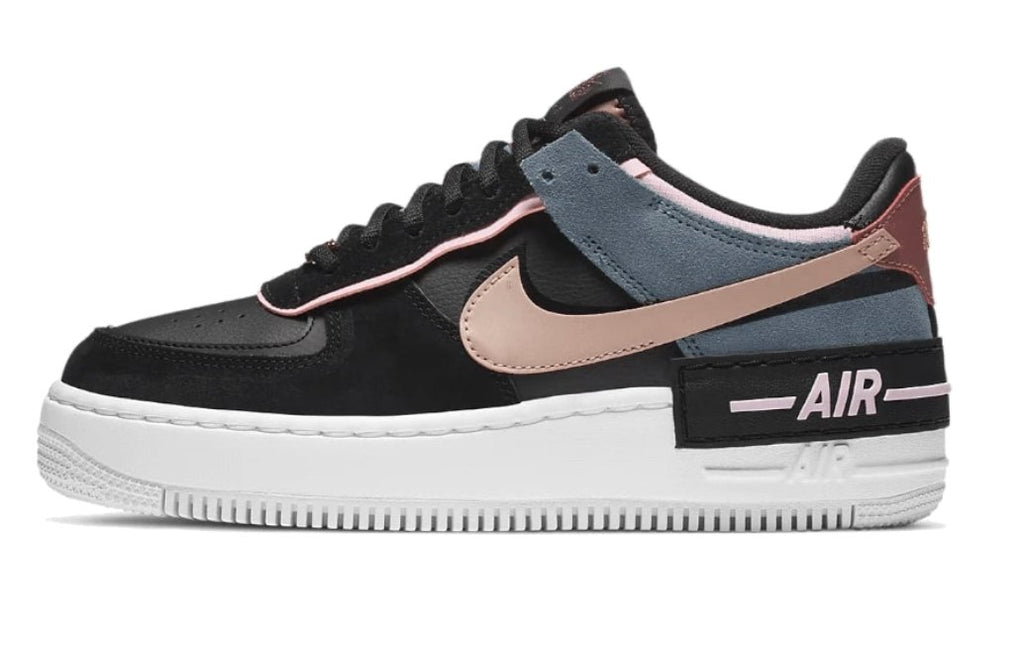 Nike Air Force 1 Shadow Black Metallic Red Bronze