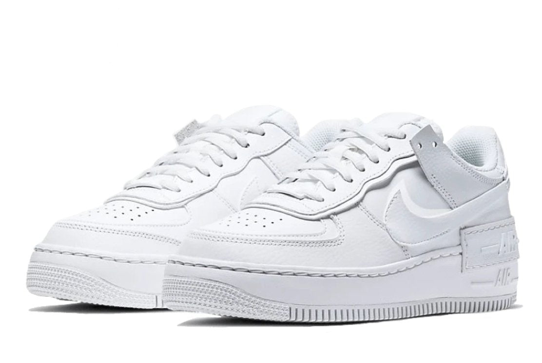 nike air force 1 shadow triple blanc femme