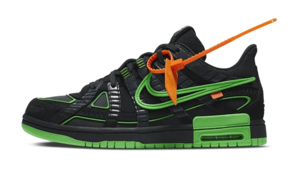 Air Rubber Dunk Off-White Green Strike - TrickyShopper