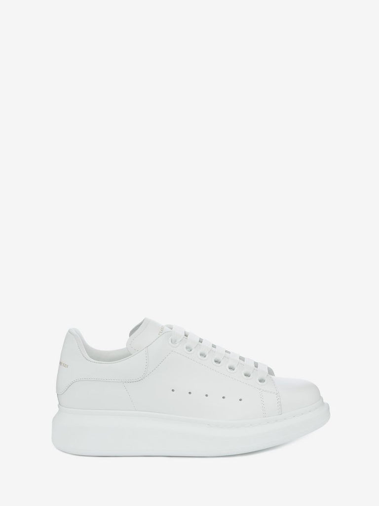 Alexander McQueen Trainers All White - TrickyShopper