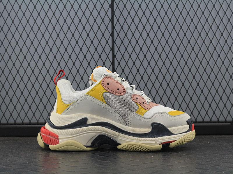 Balenciaga Triple-S Pink Yellow - TrickyShopper