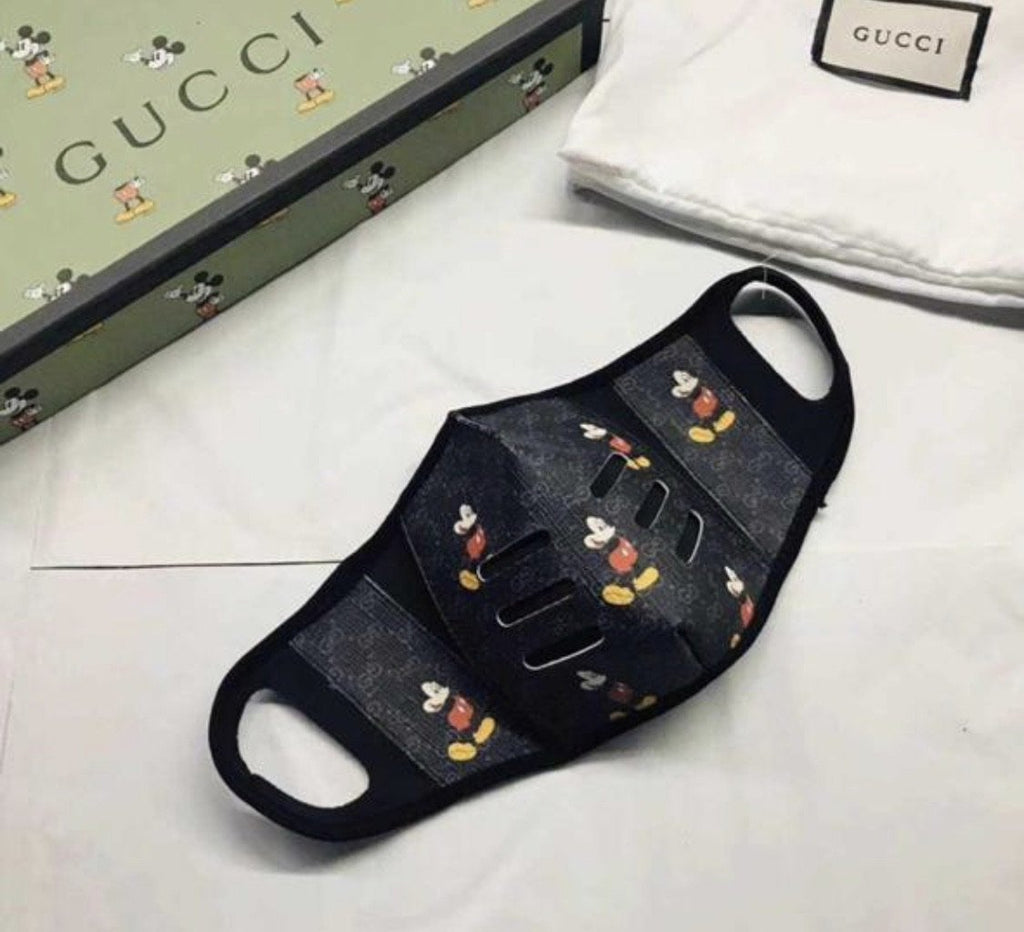 Gucci Facemask Black - TrickyShopper