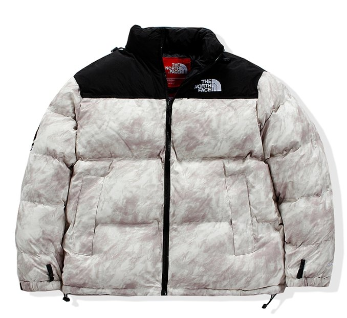 North Face Jacket White - TrickyShopper