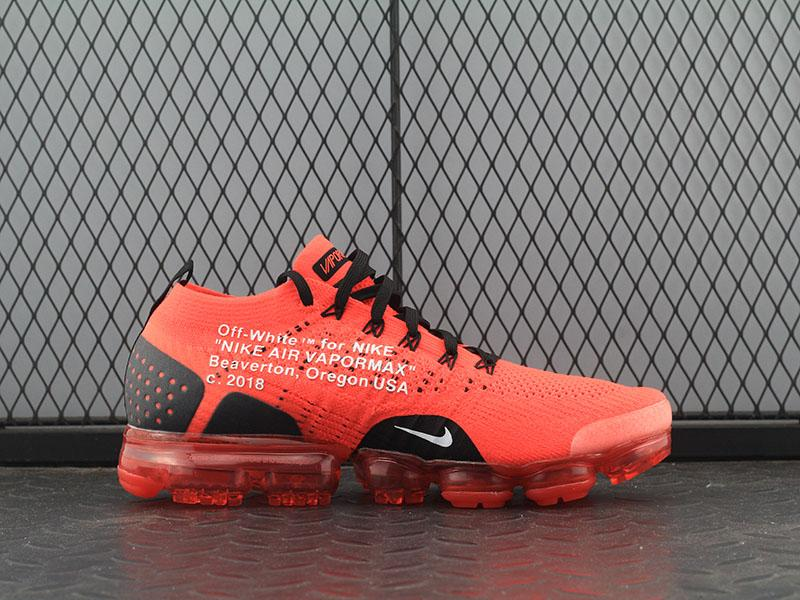Off White x Nike Vapormax Red