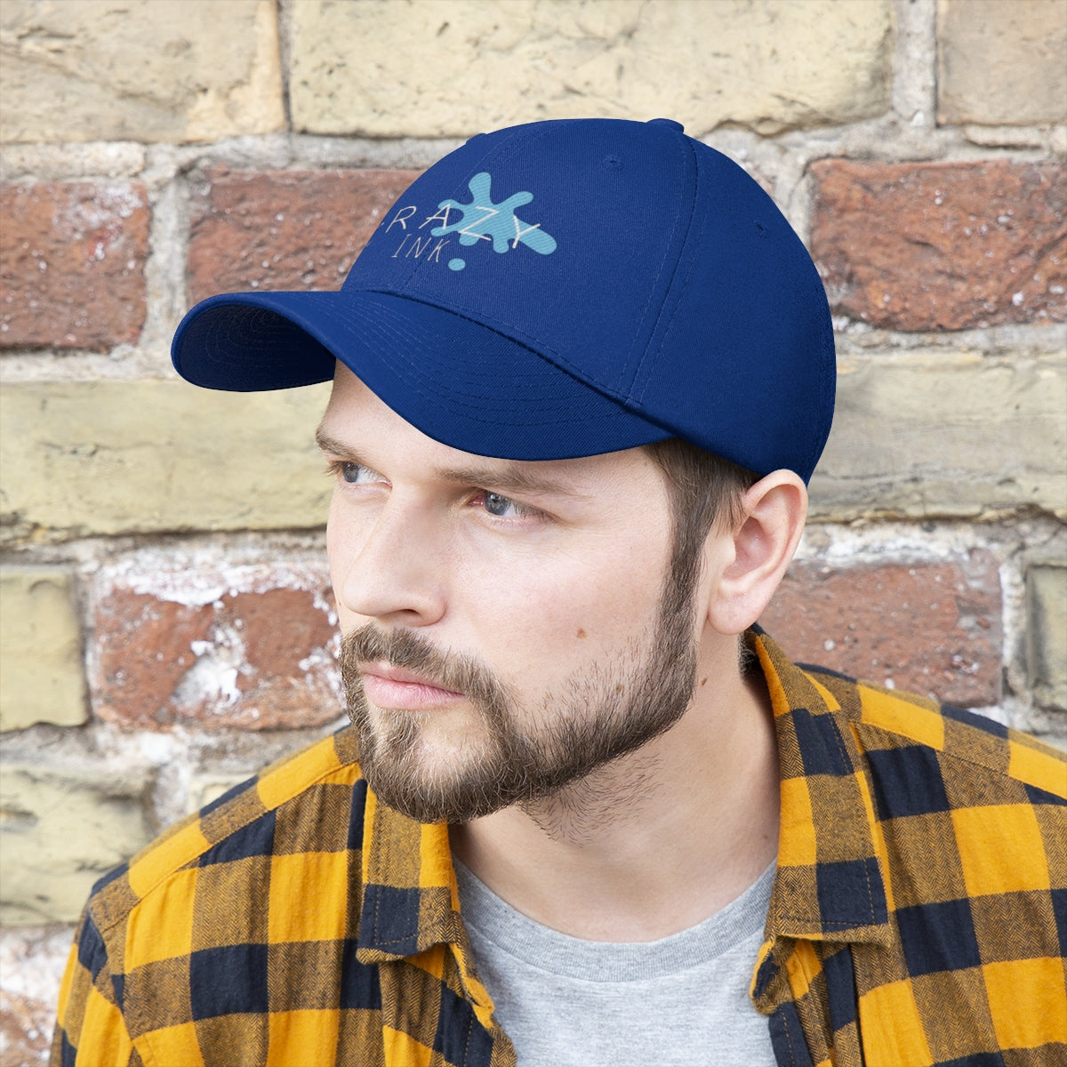 Crazy Ink Unisex Twill Hat