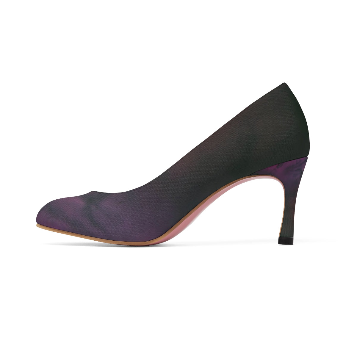 Women's Purple Ink High Heels