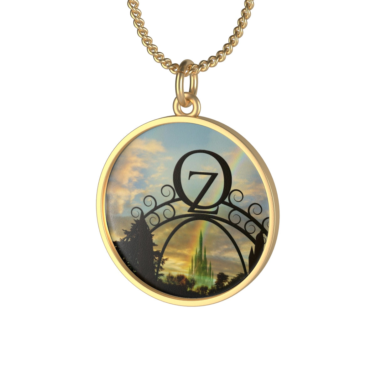 Oz Single Loop Necklace