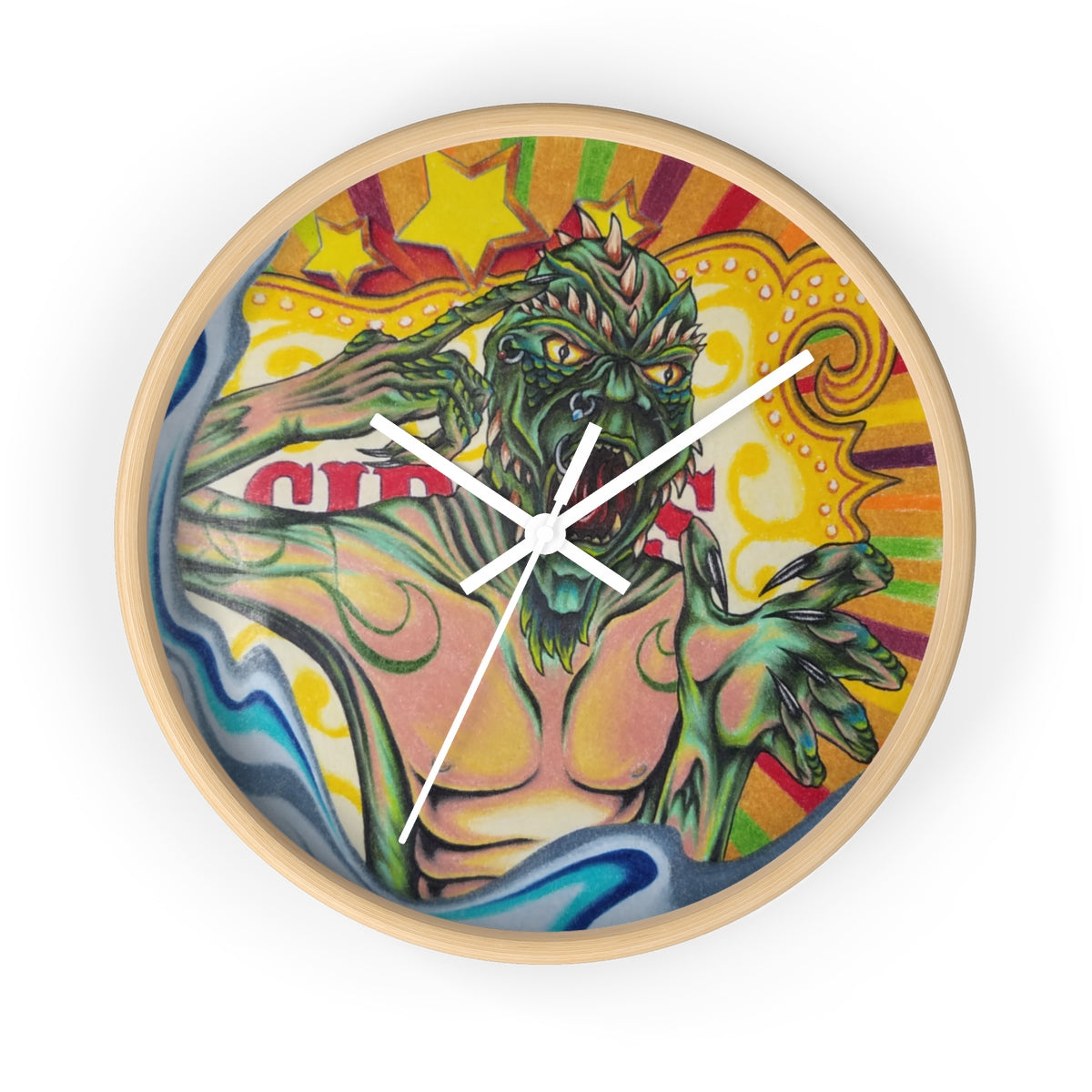 Carnie Time Wall clock