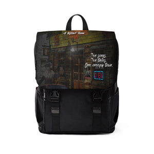 Karoke Night Unisex Casual Shoulder Backpack