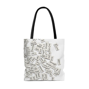 Writer AOP Tote Bag