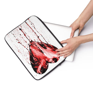 Bleeding Heart Laptop Sleeve