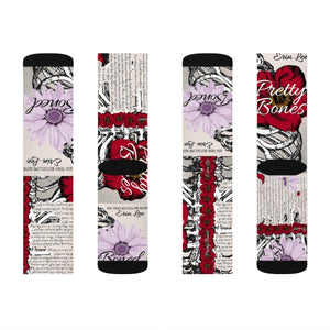 Bones Duet Sublimation Socks
