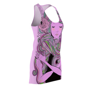 Lusus Naturae Women's Cut & Sew Racerback Dress