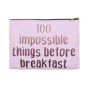 100 Impossible Things Pouch
