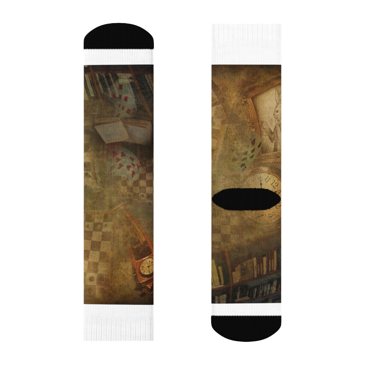 Wonderland Crew Socks