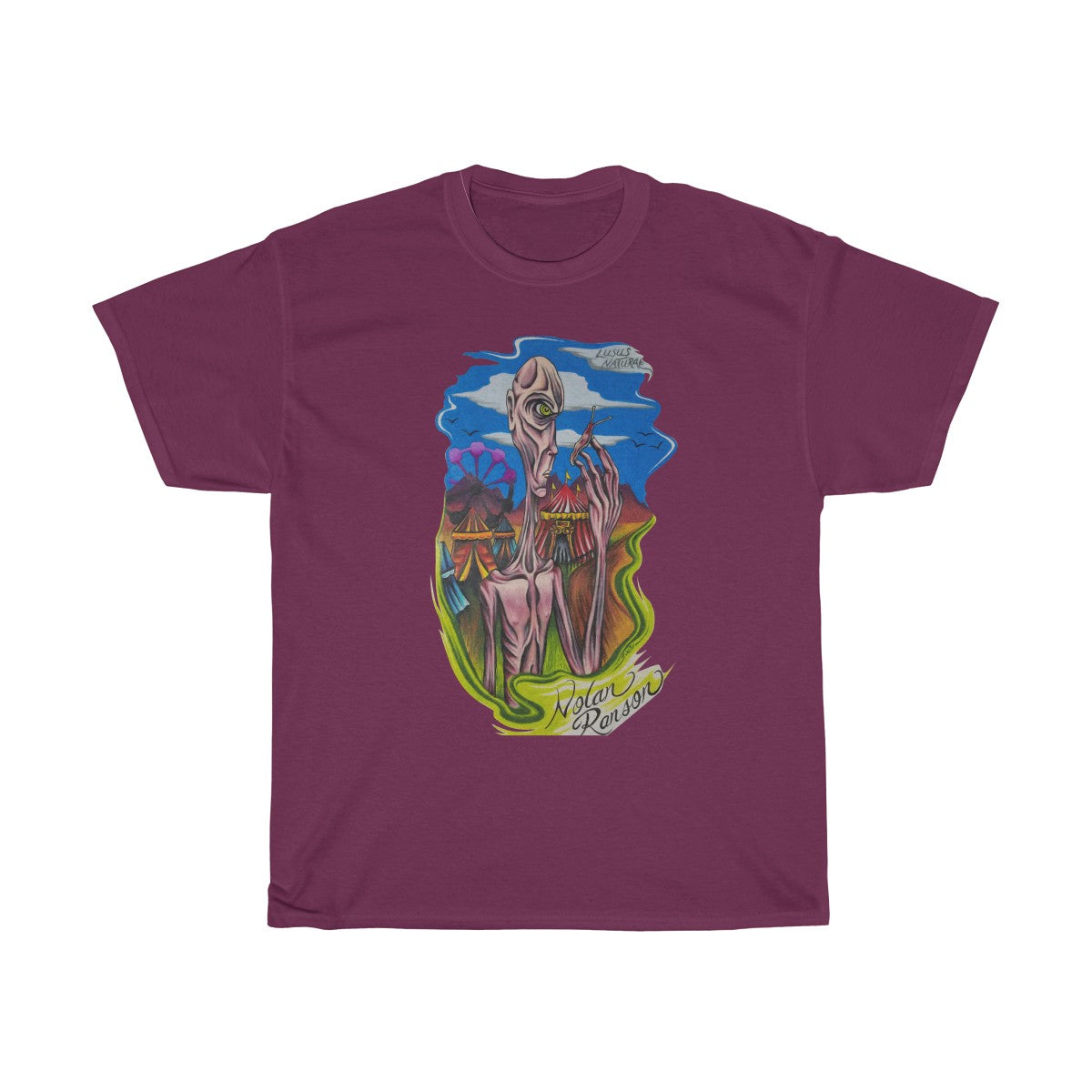 Lusus Naturae - Unisex Heavy Cotton Tee  - Nolan