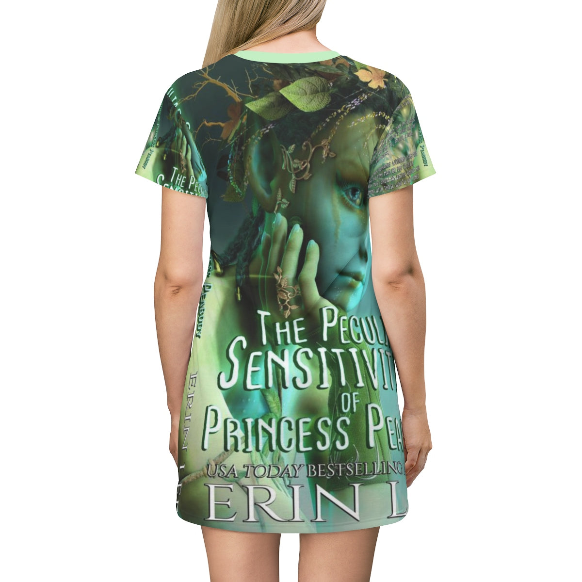 Princess Peabody AOP T-shirt Dress