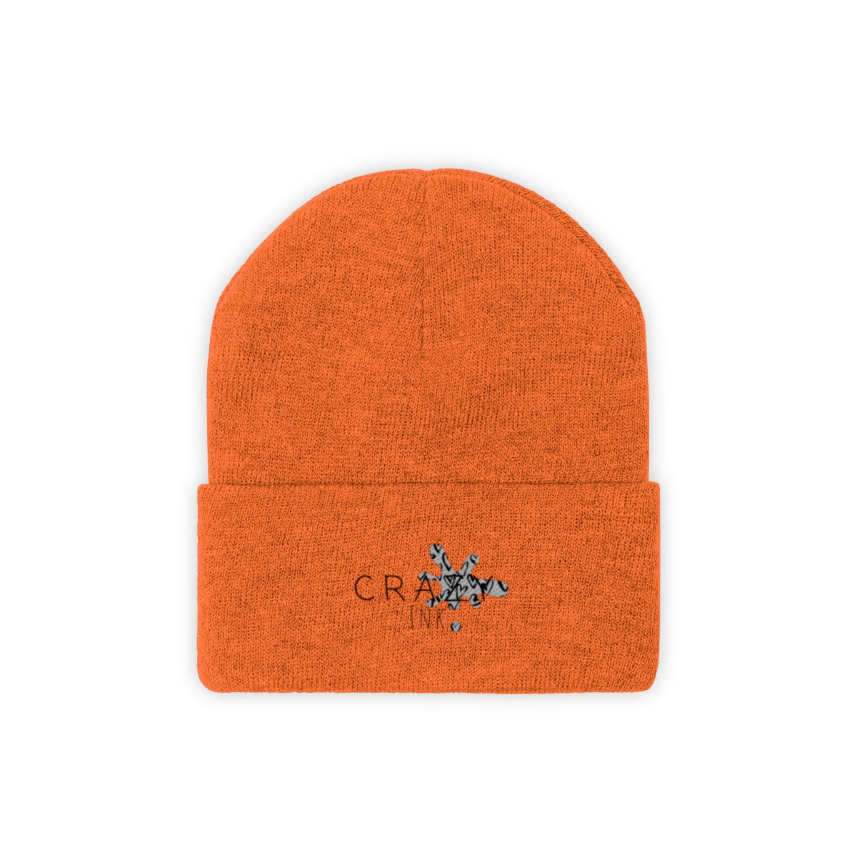 Crazy Ink Knit Beanie