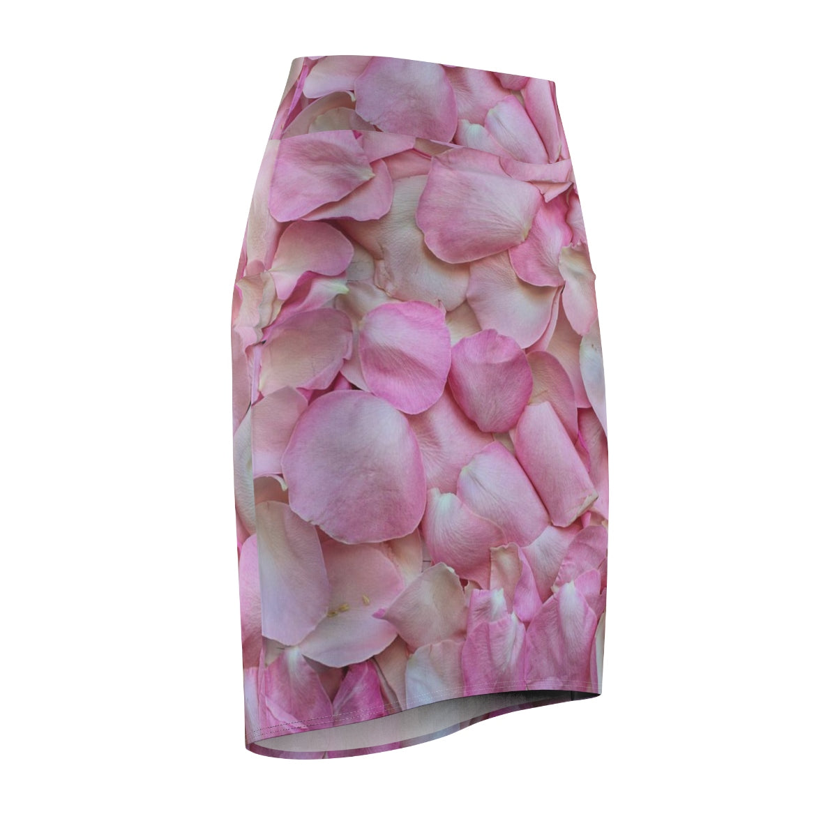 Pink Roses Women's Pencil Skirt