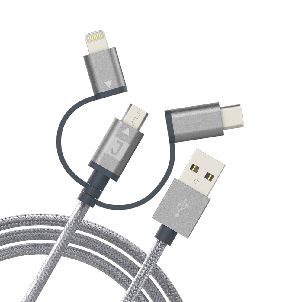 Juku 3-In-1 Charge & Sync Cable