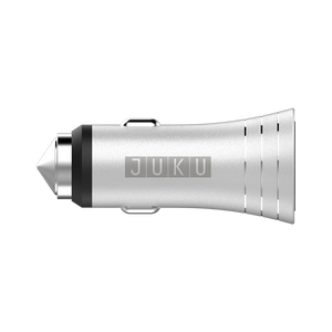 Juku QuickSilver USB Car Charger (12W)