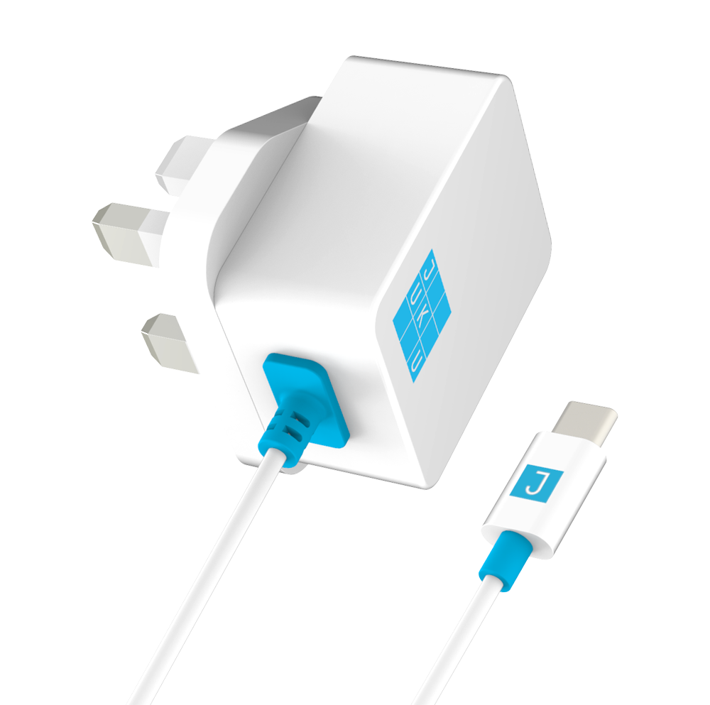 Juku USB-C Wall Charger (12W)