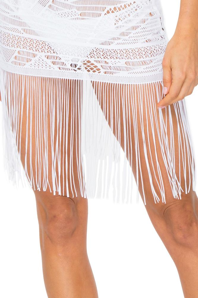 El Carnaval Flirty Fringe Dress