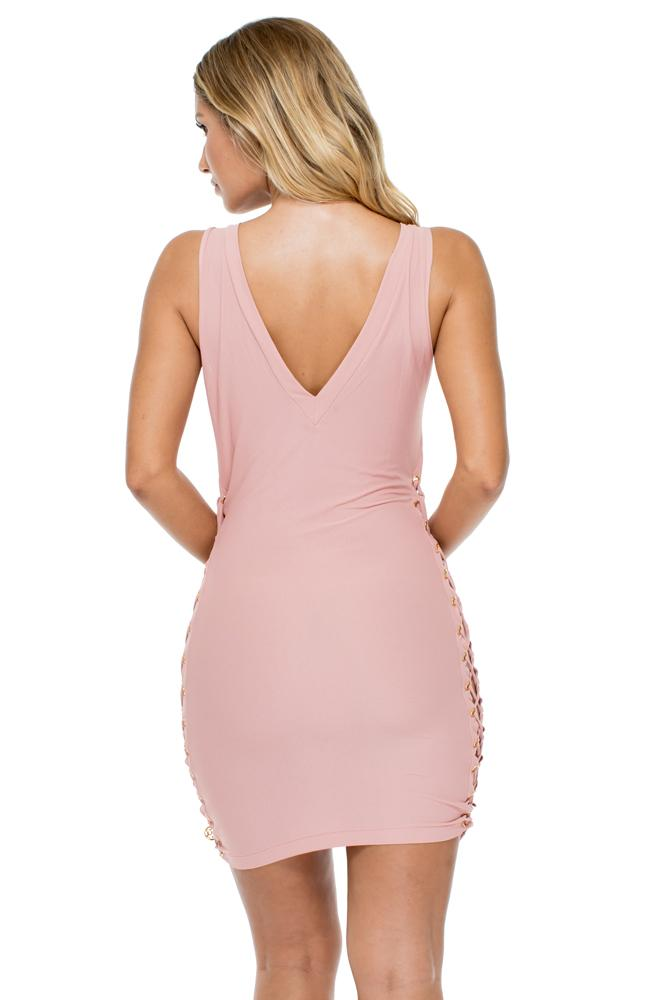 Mambo Open Sides Bodycon Dress
