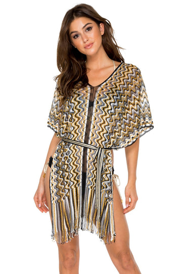 Rumba V Neck Tunic