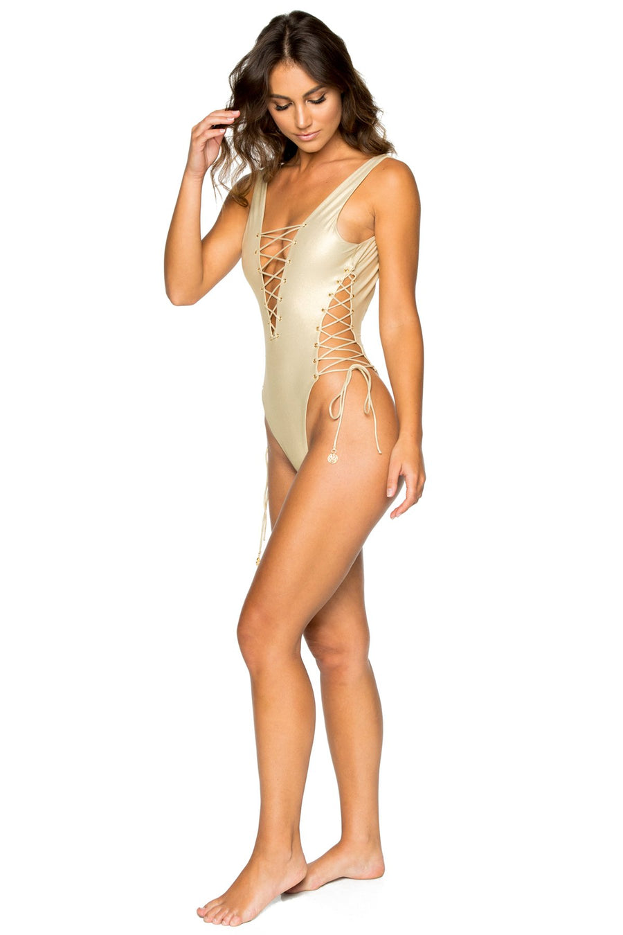 Open Side One Piece BodySuit