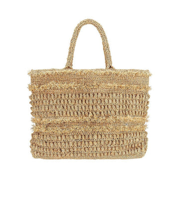 Florabella Women's Natural Gold Coast Tote