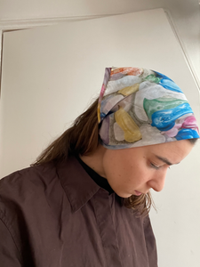 Foulard - Small scarf made with Margaux Dereume