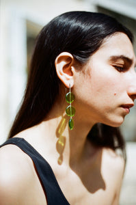 Agnès earrings - Green