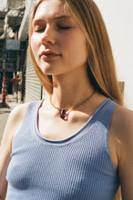 Load image into Gallery viewer, Fabienne necklace - Blue / Fuchsia