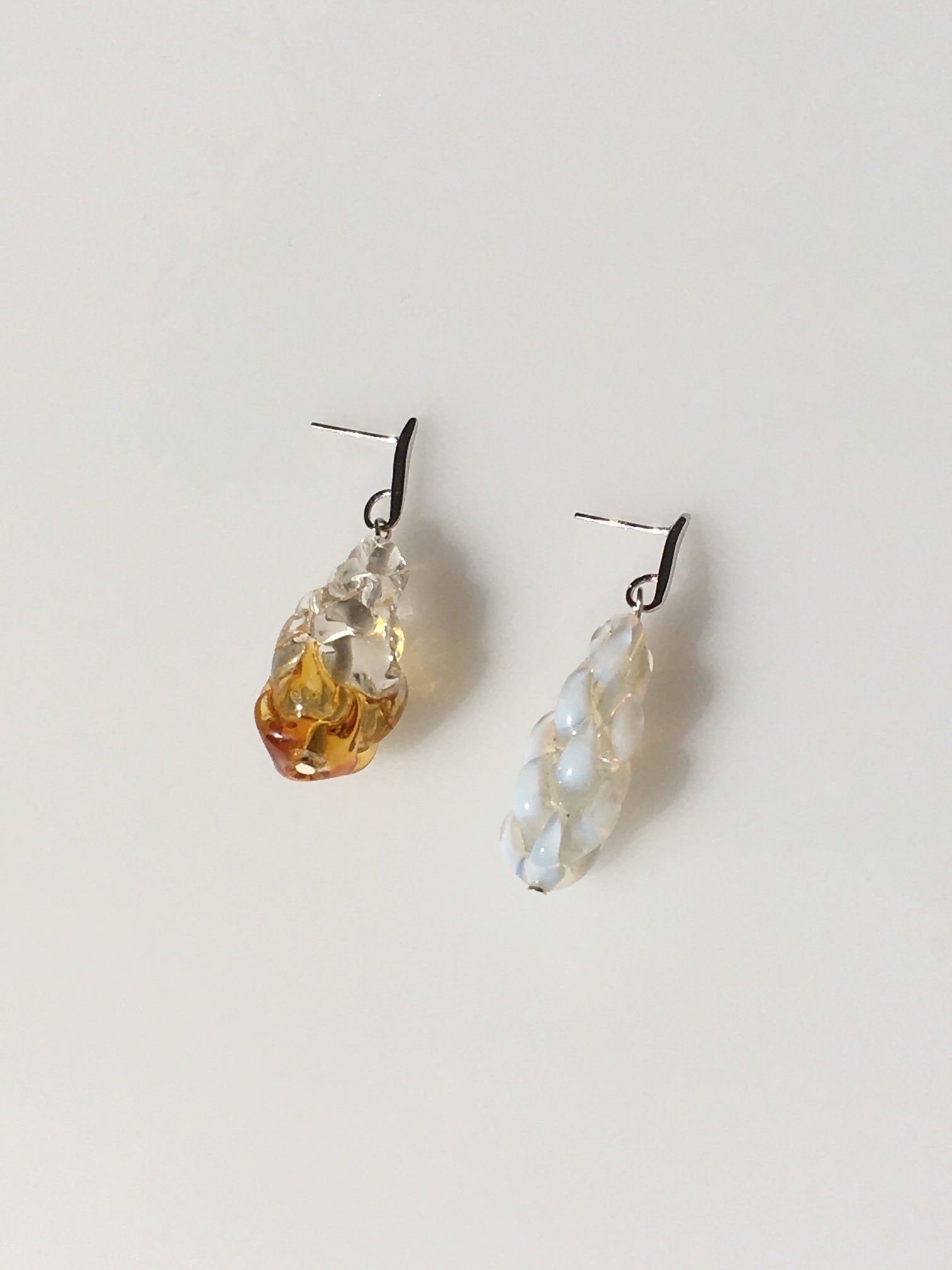 Artichaud earrings - Mismatched